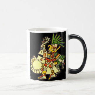 Huitzilopochtli Morphing la taza de Coffe