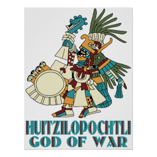Huitzilopochtli Poster