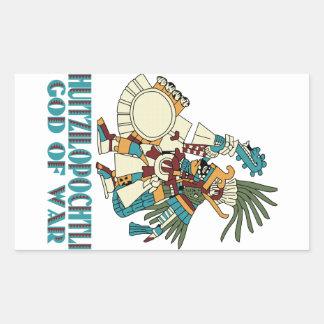 Huitzilopochtli Rectangular Sticker