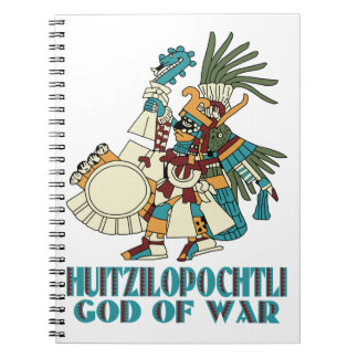 Huitzilopochtli Spiral Note Books