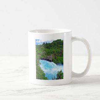 Huka Falls on the Waikato River, New Zealand Coffee Mug