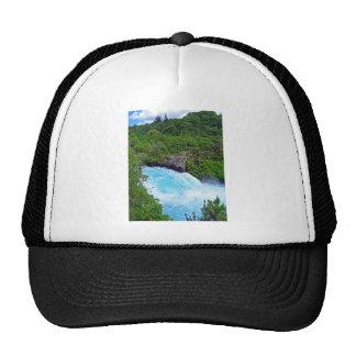 Huka Falls on the Waikato River New Zealand Mesh Hat
