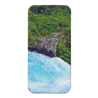 Huka Falls on the Waikato River, New Zealand iPhone 5 Covers