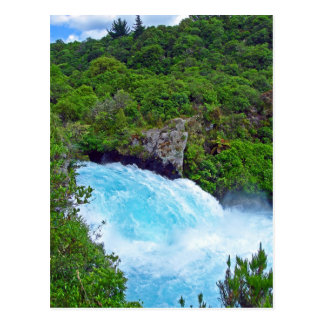 Huka Falls on the Waikato River, New Zealand Postcard