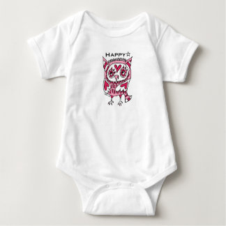 hukurou (both sides) of three hearts baby bodysuit