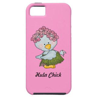 Hula Chick Blue Bird Beach Hula Dancer iPhone SE/5/5s Case