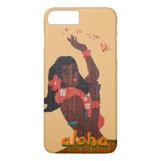 Hula Dancer Aloha Hawaii Map iPhone 7 Plus Case
