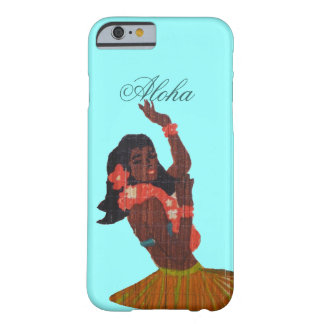 Hula Dancer Aloha Seafoam green Barely There iPhone 6 Case