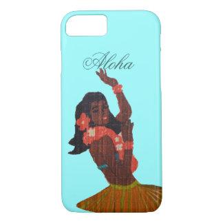 Hula Dancer Aloha Seafoam green iPhone 7 Case