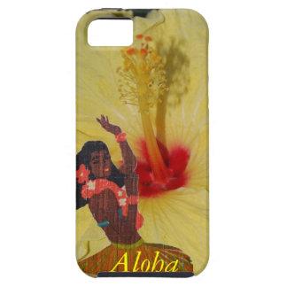 Hula Dancer Hawaiian Plumeria iPhone SE/5/5s Case