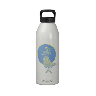Hula Death Luau Drinking Bottle