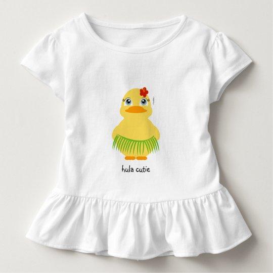 hula ducky BIRTHDAY luau gift shirt