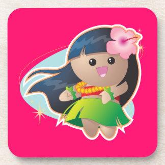 Hula Girl Coaster
