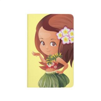 Hula girl journal