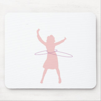 hula girl mouse pad
