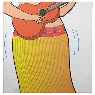 Hula Girl Napkins