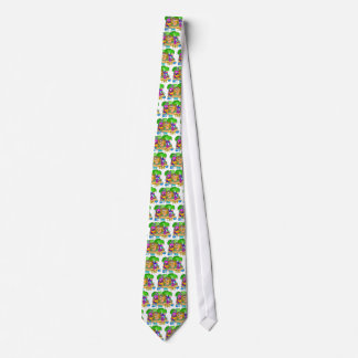 Hula Girl Neck Tie