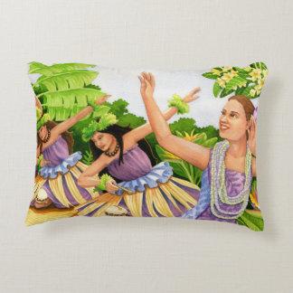 Hula Halau Decorative Pillow