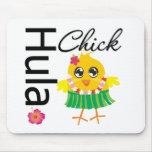 Hula Hawaii Chick Mouse Pad