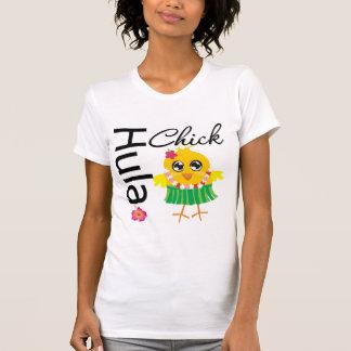 Hula Hawaii Chick T-shirt