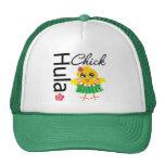Hula Hawaii Chick Trucker Hat