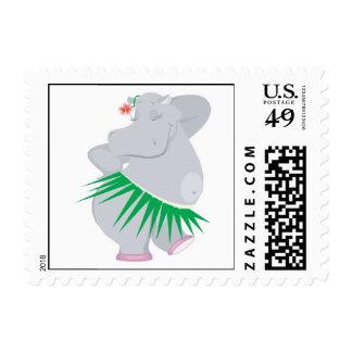 hula hippo postage