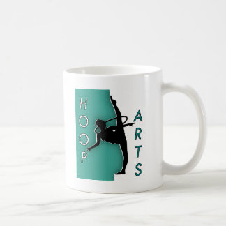 Hula Hoop Arts Classic White Coffee Mug