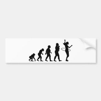 Hula Hoop Bumper Sticker