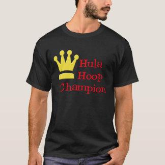 Hula Hoop Champion dark t-shirt