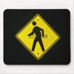hula hoop crossing mouse pad