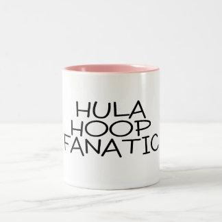 Hula Hoop Fanatic Two-Tone Coffee Mug