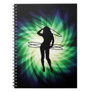 Hula Hoop Girl; Cool Notebook