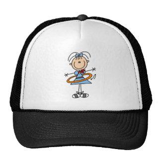 Hula Hoop Girl Hat