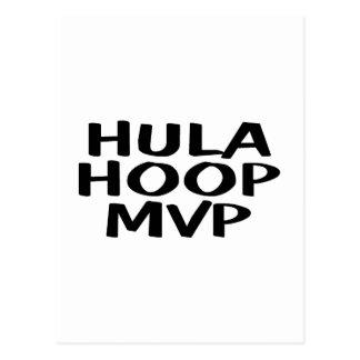 Hula Hoop MVP Postcard