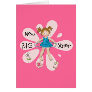 Hula Hoop New Big Sister Cards