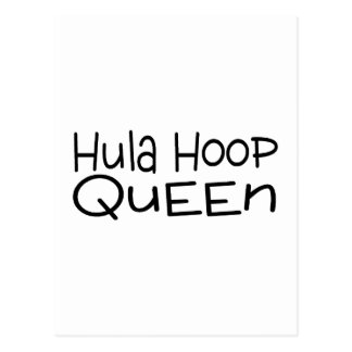 Hula Hoop Queen Postcard