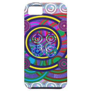 Hula Hoop Round Colorful Circles iPhone SE/5/5s Case
