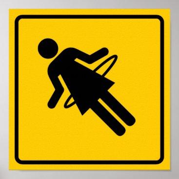 wesleyowns Hula Hoop Zone Highway Sign
