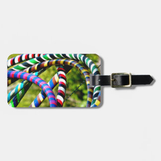 Hula Hooping in Style Bag Tag