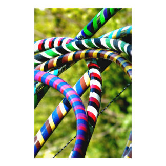 Hula Hooping in Style Stationery Paper