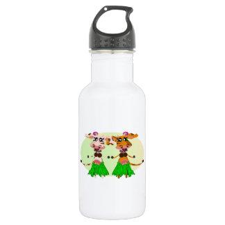 Hula-Hula Moo Cows Stainless Steel Water Bottle