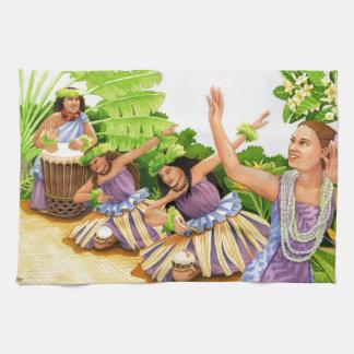 Hula Kitchen Towel