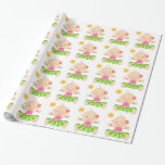 Hula Luau Baby Shower Wrapping Paper