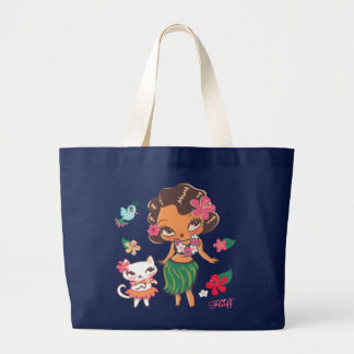 Hula Lulu- Jumbo tote Tote Bags