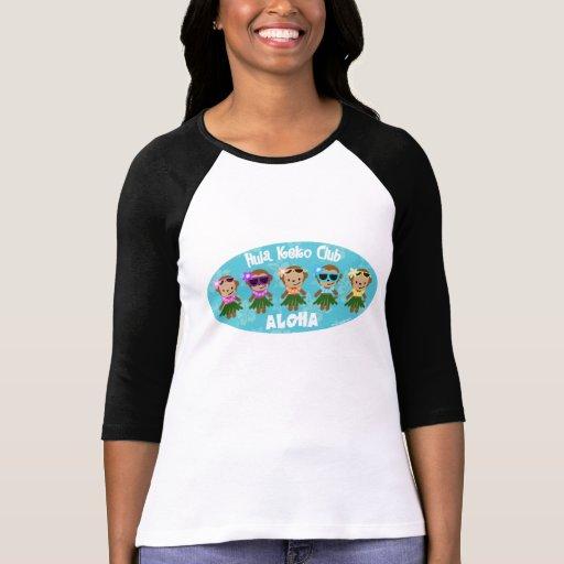 Hula Monkey Club ALOHA Tshirt
