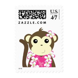Hula Monkey Postage