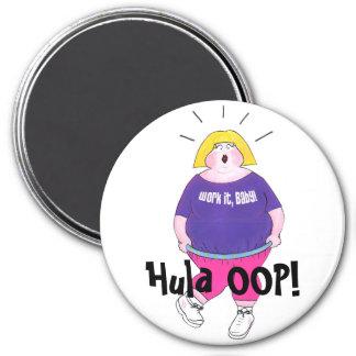 """Hula OOP! - """"Work It, Baby!"""" Magnet"""