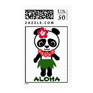 Hula Panda Postage