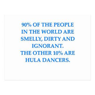 hula postcard
