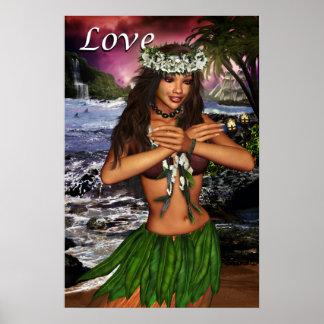 Hula Posters